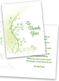 Funeral Home and Cremations 0000068 Funeral Tributes by Bradley Thankyoucards